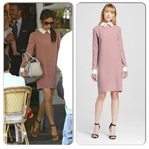 Victoria Beckham for target pink bunny long dress